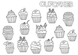 Explore 623989 free printable coloring pages for your kids and adults. Cupcakes And Cakes Coloring Pages For Adults