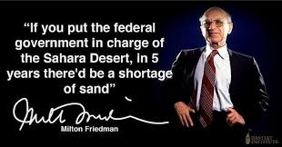 Milton Friedman Quotes Magnificent Quote Of The Day The Sahara Desert Common Sense Evaluation