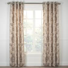 Curtain 96 Inches Long Indoor Outdoor Grommet Top Curtains And Panels Thecurtainshopcom