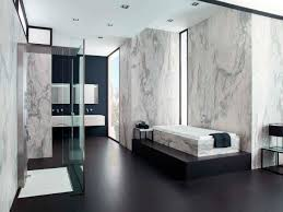 fresh black and white marble tile bathroom  awesome to house