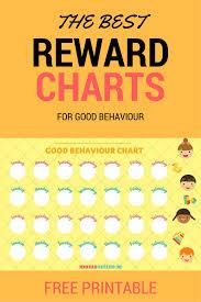 Free Printable Good Behaviour Chart For Kids Print Off And