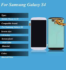 s4 screen size samsung galaxy s4 i9500 lcd screen