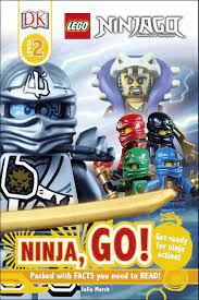 LEGO® Ninjago Ninja, Go! (DK Reads Beginning To Read) : March, Julia:  Amazon.co.uk: Books