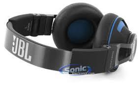 jbl koptelefoon. product name: jbl synchros s300a - black/blue jbl koptelefoon