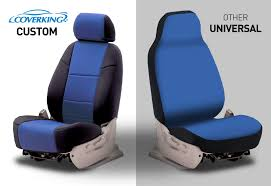 there is no such thing as a one size fits all seat cover if you want superb fit coverking s fully custom made seat cover is the clear choice