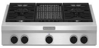 gas cooktop with grill. Fine Cooktop KGCU462VSS KitchenAid 36 On Gas Cooktop With Grill C