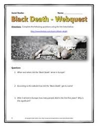 animation showing the sp of the black death from through black death webquest and map assignment key plague