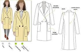 Coat Sewing Patterns Inspiration Ingrid Coat Style Arc