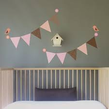 i m fabric and reusable wahooo birds and bunting wall decal wall sticker