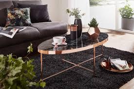 Ovaler Tisch Schwarz