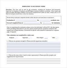 employee evaluation feedback download employee evaluation form forms pinterest employee
