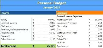 Personal Finance Excel Templates In C Pdf Personal Finance Budget Excel Template