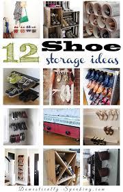 Shoe Organizer Ideas 12 Shoe Organization Ideas Organization Ideas Storage