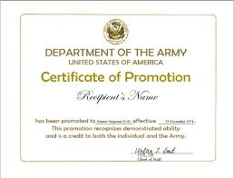 certificate of promotion template promotion certificate template ipasphoto