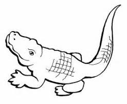 Small Picture Free Printable Crocodile Coloring Pages For Kids crocodile