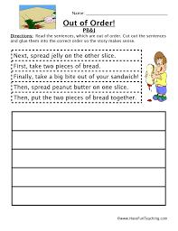 Sequencing Worksheet - Making A Sandwich | Have Fun Teaching