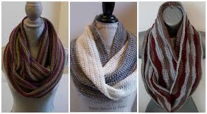 Crochet Infinity Scarf Length