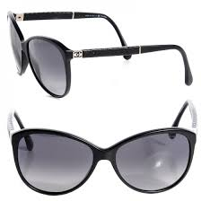 CHANEL Quilted CC Sunglasses 5225Q Black 78667 & CHANEL Quilted CC Sunglasses 5225Q Black Adamdwight.com