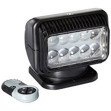 home departments lighting go light 12 volt led spot light with wireless remote black