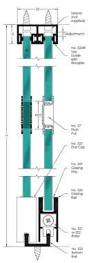 brio glassroll sliding door gear
