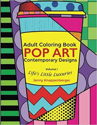 Small Picture Amazoncom Adult Coloring Book Pop Art Contemporary Designs