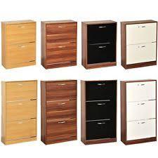 wood storage cabinets with locks. 2 3 drawer shoe cabinet storage cupboard footwear stand rack wooden unit new wood cabinets with locks