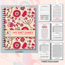 Food Diary Compatible With Slimming World Plan Tracker Log 7 26 Wk
