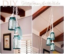 diy vintage mason jar chandelier diy vintage mason jar chandelier