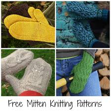 Free Knit Patterns Adorable 48 FREE Mitten Patterns To Knit