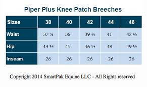 Smartpak Breeches Size Chart The Piper Breech From Smartpak For Everyday Riding The
