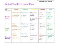 Fall Lesson Plans For Toddlers 71 Best Lesson Plans For Infants Images Kid Crafts Toddler