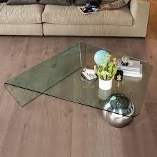 globe modern glass coffee table by cattelan