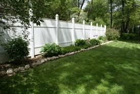 white fence. White Fence. Perfect Fence Throughout I
