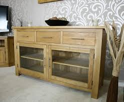 best pertaining to sideboards astonishing glass door sideboard glass front buffet solid wood sideboard with glass doors baffling solid wood sideboard with
