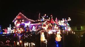 Christmas Lights Santa Cruz Christmas House In Santa Cruz California