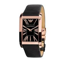 emporio armani watches ar2034 mens super slim all black rose gold emporio armani watches ar2034 mens super slim black rose gold watch