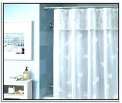 84 long shower curtain inch white ruffle greta 72 x extra brown