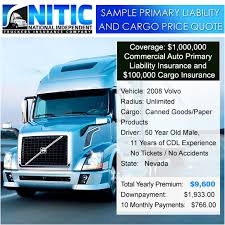 Insurance Price Quote Classy Sample Truck Insurance Price Quotes