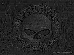 skull wallpaper harley davidson