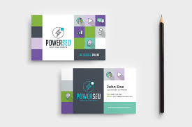 Seo Agency Business Card Template In Psd Ai Vector