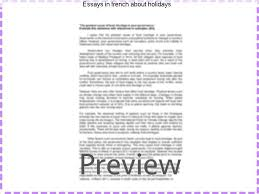 essays in french about holidays college paper academic service essays in french about holidays essay on how i spend my summer vacations