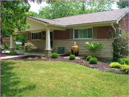 Small Landscaping Ideas for Front of Ranch Style House