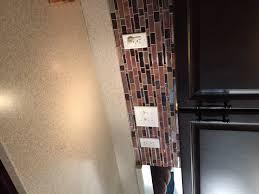 kitchen l and stick tiles kitchen backsplash makeover