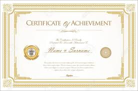 Microsoft Powerpoint Certificate Template Certificate Of Accomplishment Template Achievement Free