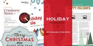 free holiday newsletter template free holiday newsletter templates added