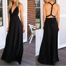 infinity dress. 2017 sexy summer long maxi dress bandage multiway bridesmaids convertible women infinity wrap beach vestidos-in dresses from women\u0027s clothing