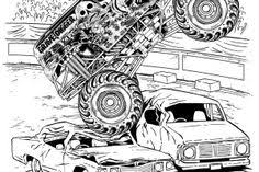 Small Picture free monster truck coloring pages Truck Coloring Pages