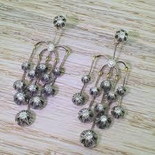 antique chandelier jewellery