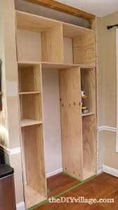 build your own pantry building a kitchen pantry build your own kitchen cabinet plans also how