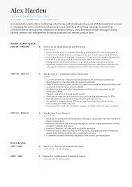Director Of Communications Resume Samples Templates Visualcv